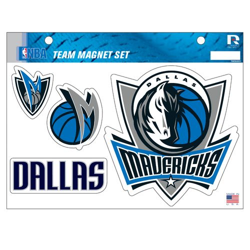 NBA Dallas Mavericks Magnets Set