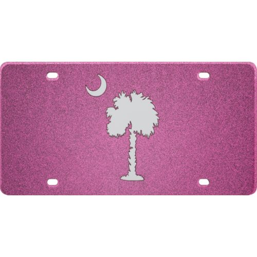 Stockdale University of South Carolina Glitter License Plate