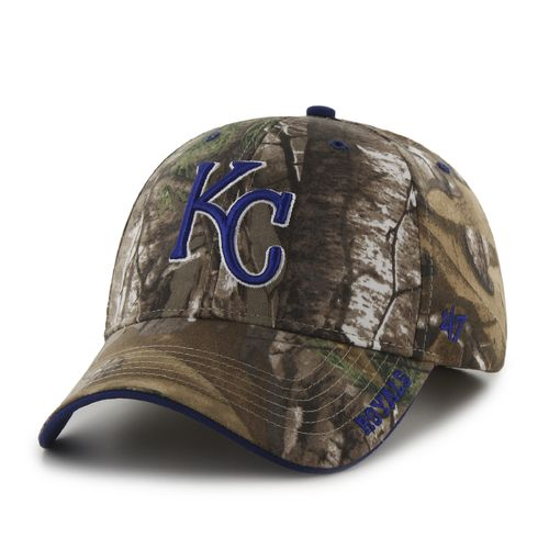 '47 Men's Kansas City Royals Realtree Frost MVP Cap