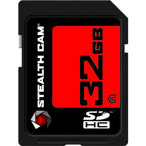 Display product reviews for Stealth Cam 32 GB SDHC Card