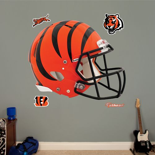 Fathead Cincinnati Bengals Helmet and Team Decals 5-Pack