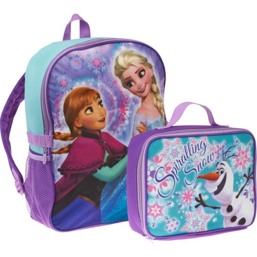 Disney Frozen Backpack with Lunch Combo