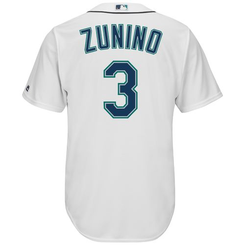 Majestic Men's Seattle Mariners Mike Zunino #3 Cool Base® Jersey