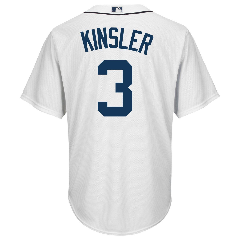 Majestic Men's Detroit Tigers Ian Kinsler #3 Cool Base Replica Jersey