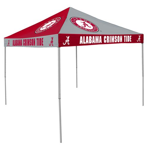 Logo™ University of Alabama Straight-Leg 9' x 9' Checkerboard Tent