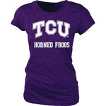 Blue 84 Juniors' Texas Christian University Triblend T-shirt