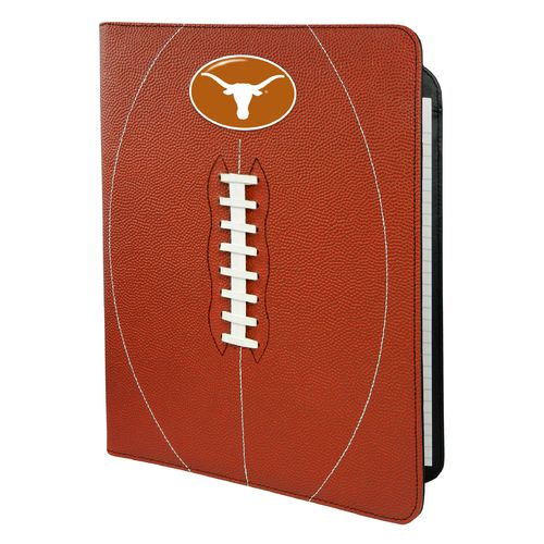 GameWear University of Texas Classic Football Portfolio with Notepad