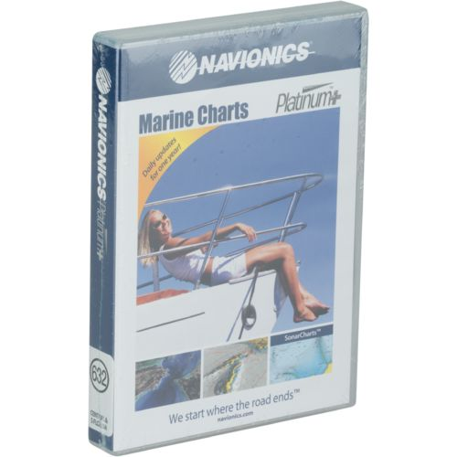 Navionics Platinum+ Central and South Florida microSD Card