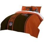 The Northwest Company Cleveland Browns Full-Size Comforter and Sham Set