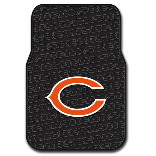 The Northwest Company Chicago Bears Front Car Floor Mats 2-Pack