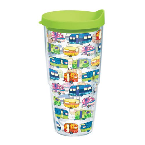 Tervis Retro Campers 24 oz. Tumbler with Lid