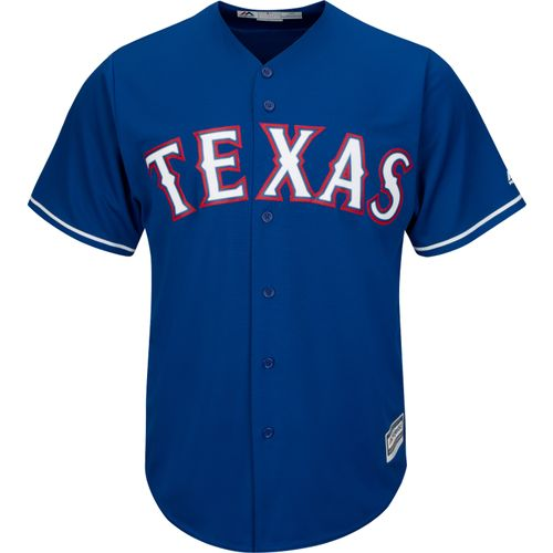 Majestic Men's Texas Rangers Cole Hamels #35 Jersey - view number 2