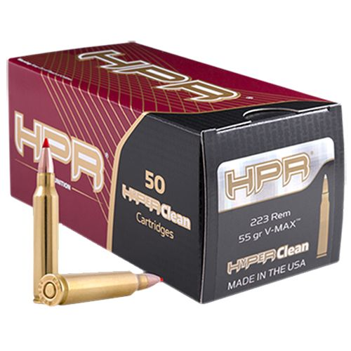HPR V-Max .223 Remington/5.56 NATO 55-Grain Centerfire Rifle