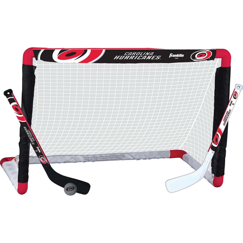 Franklin Carolina Hurricanes Mini Hockey Goal Set