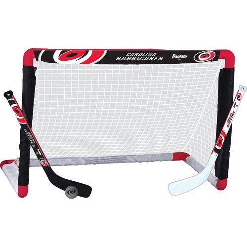 Franklin Carolina Hurricanes Mini Hockey Goal Set