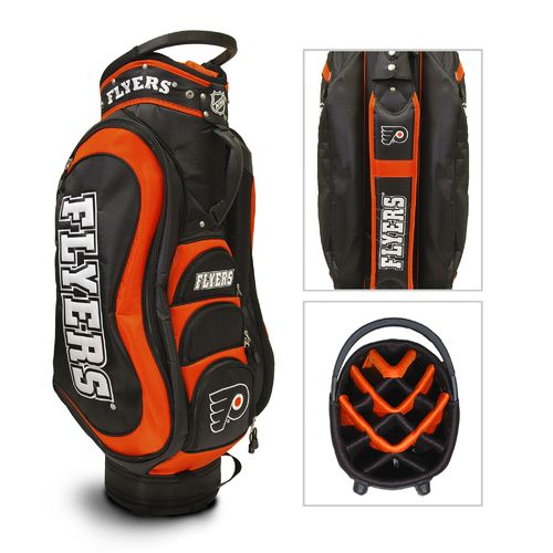 Team Golf Philadelphia Flyers Medalist Cart Golf Bag
