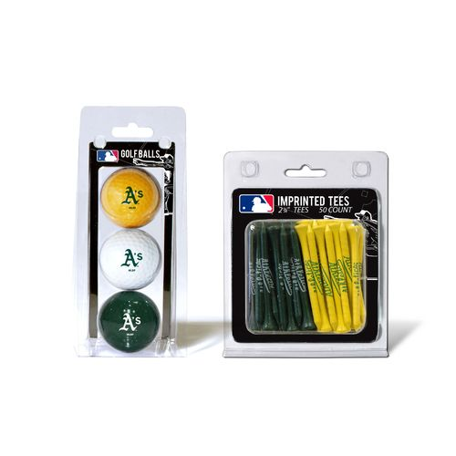 Team Golf Oakland Athletics Golf Balls and Tees Set - view number 1