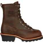 Chippewa Boots® Men's Bay Apache Waterproof Logger Rugged Outdoor Boots