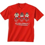 New World Graphics Toddlers' Texas Tech University No Evil T-shirt