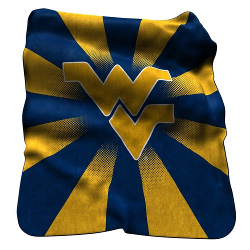 Logo™ West Virginia University Raschel Throw - view number 1