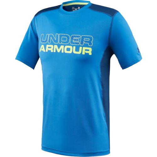 Under armour men 39 s raid graphic t shirt academy for Under armour men s shirts clearance