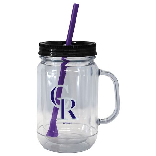 Boelter Brands Colorado Rockies 20 oz. Handled Straw Tumblers 2-Pack - view number 1