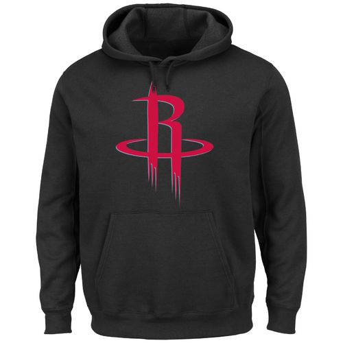 Majestic Men's Houston Rockets Tek Patch Fleece Hoodie