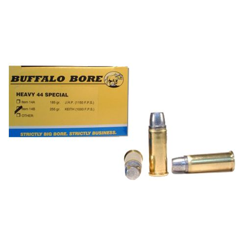 Buffalo Bore .44 Special 255-Grain Hard-Cast Keith Semi-Wadcutter