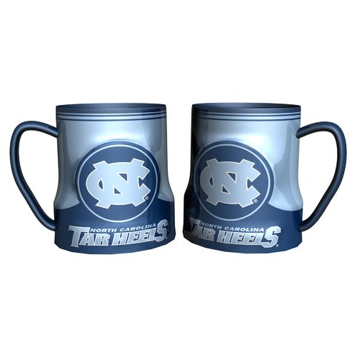 Boelter Brands University of North Carolina Gametime 18 oz. Mugs 2-Pack