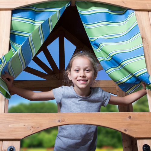 Backyard Discovery™ Oceanview Wooden Swing Set - view number 7