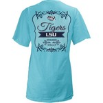 Three Squared Juniors' Louisiana State University Flora T-shirt
