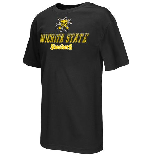 Colosseum Athletics Boys' Wichita State University Pixel Short Sleeve T-shirt - view number 1