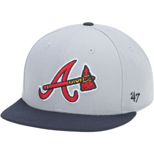 '47 Men's Atlanta Braves Sure Shot 2-Tone Captain Cap