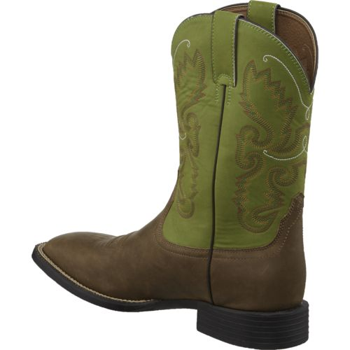 Justin Men's Farm and Ranch Square Toe Boots - view number 3