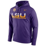 Nike Men's Louisiana State University Circuit Pullover Hoodie