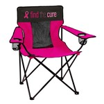 Logo Breast Cancer Awareness Elite Chair