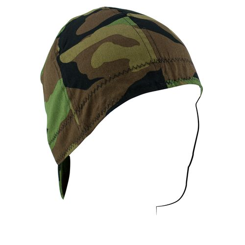 ZANHeadgear Men's Woodland Camo Welder Cap - view number 1