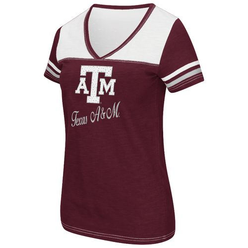 Colosseum Athletics™ Women's Texas A&M University Rhinestone Short Sleeve T-shirt