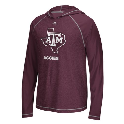 adidas™ Men's Texas A&M University Loyal Fan Hoodie