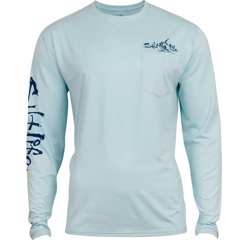Salt Life Men's Captain SLX Long Sleeve T-Shirt