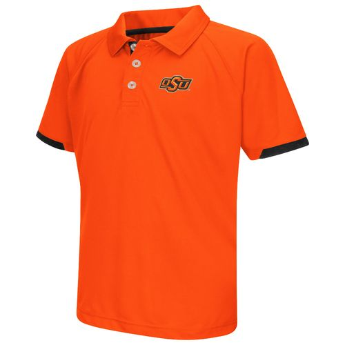 Colosseum Athletics™ Boys' Oklahoma State University Spiral Polo Shirt