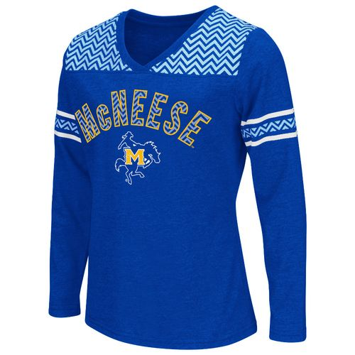 Colosseum Athletics™ Girls' McNeese State University Cupie Long Sleeve T-shirt