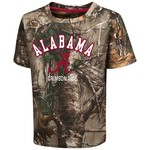 Colosseum Athletics™ Toddler Boys' University of Alabama Blacktail Camo T-shirt
