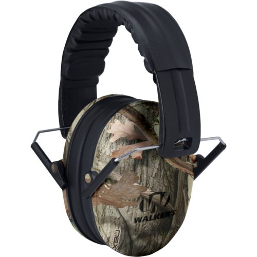 Walker's Kids' Folding Camo Earmuffs