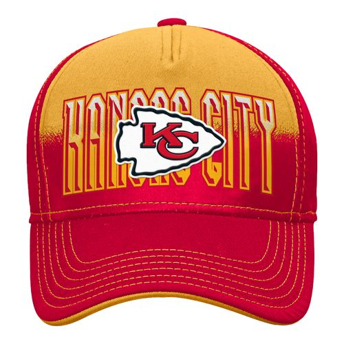 NFL Boys' Kansas City Chiefs DNA Helix Flex Cap