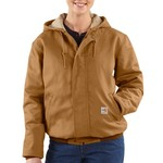 Carhartt Women's Flame Resistant Midweight Canvas Active Jacket - view number 2