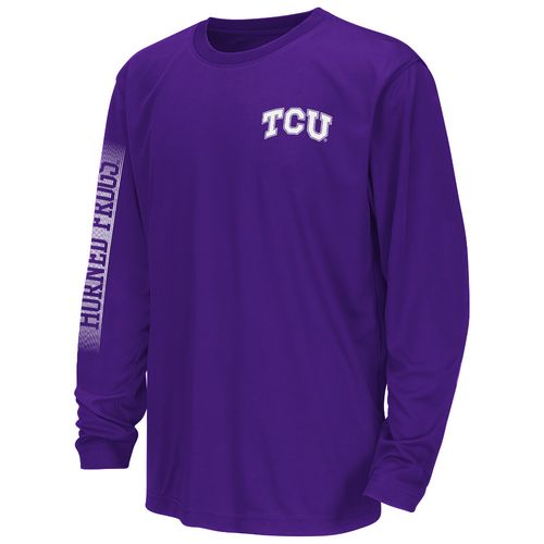 Colosseum Athletics™ Juniors' Texas Christian University Long Sleeve T-shirt