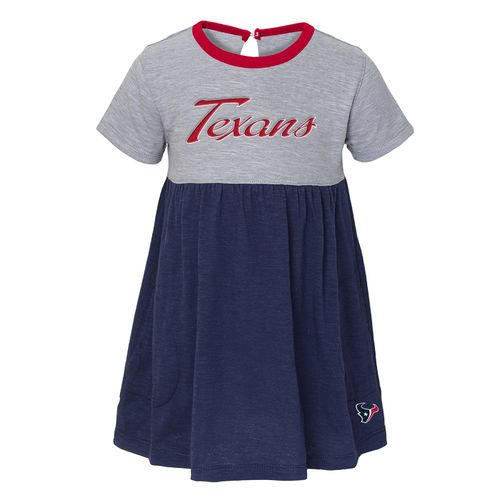 NFL Toddler Girls' Houston Texans Babydoll Dress