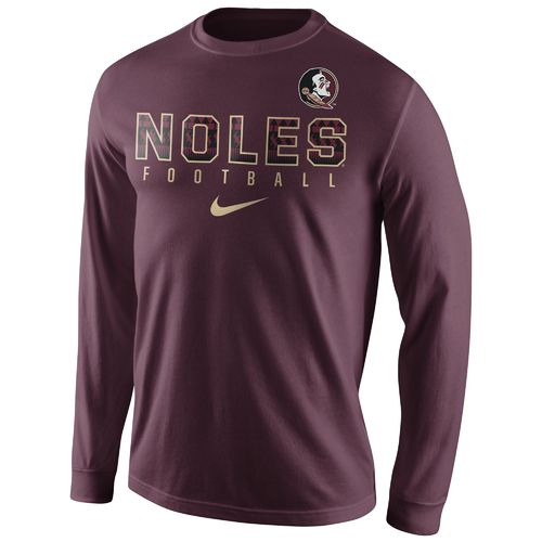 Nike Men's Florida State University Practice Long Sleeve T-shirt