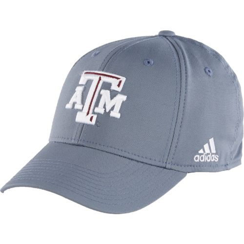 adidas™ Men's Texas A&M University Structured Flex Cap